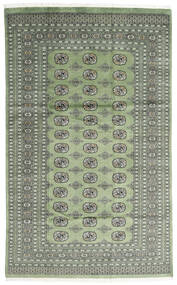 Pakistan Bokhara 2Ply Rug 181X293 Authentic  Oriental Handknotted Light Grey/Olive Green (Wool, Pakistan)