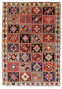 Qashqai Rug 136X197 Authentic  Oriental Handknotted Dark Red/Dark Brown (Wool, Persia/Iran)