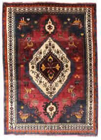 Qashqai Rug 136X190 Authentic  Oriental Handknotted Dark Red/Dark Brown (Wool, Persia/Iran)