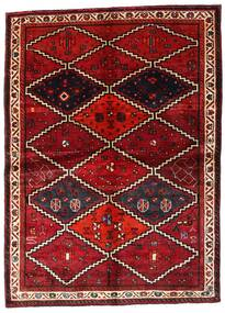 Lori Rug 162X224 Authentic Oriental Handknotted Dark Red (Wool, Persia/Iran)