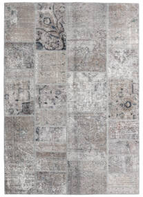 Patchwork - Persien/Iran Rug 140X200 Authentic Modern Handknotted Light Grey (Wool, Persia/Iran)