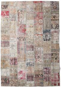 Patchwork - Persien/Iran Rug 250X355 Authentic  Modern Handknotted Light Grey/Light Brown Large (Wool, Persia/Iran)