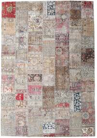 Patchwork - Persien/Iran Rug 247X354 Authentic  Modern Handknotted Light Grey/Pink (Wool, Persia/Iran)