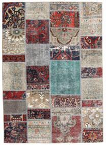 Patchwork - Persien/Iran Rug 141X202 Authentic Modern Handknotted Light Grey/Dark Grey (Wool, Persia/Iran)