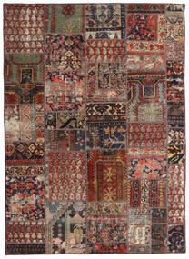 Patchwork - Persien/Iran Rug 144X201 Authentic Modern Handknotted Dark Red/Dark Brown/Light Brown (Wool, Persia/Iran)