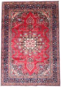 Mashad Rug 203X290 Authentic Oriental Handknotted Dark Purple/Pink (Wool, Persia/Iran)