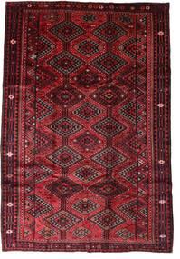 Lori Rug 207X302 Authentic Oriental Handknotted Dark Red/Crimson Red (Wool, Persia/Iran)