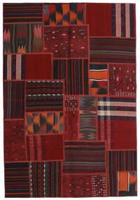 Tekkeh Kilim Rug 138X201 Authentic Modern Handwoven Dark Red (Wool, Persia/Iran)