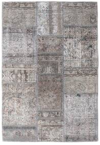 Patchwork - Persien/Iran Rug 105X159 Authentic Modern Handknotted Light Grey/Dark Grey (Wool, Persia/Iran)