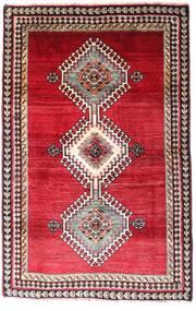 Qashqai Rug 120X185 Authentic Oriental Handknotted Dark Red/Crimson Red (Wool, Persia/Iran)