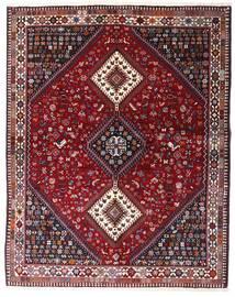 Yalameh Rug 152X193 Authentic  Oriental Handknotted Dark Red/Light Purple (Wool, Persia/Iran)