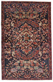 Bakhtiari Rug 133X205 Authentic Oriental Handknotted Dark Grey/Dark Red (Wool, Persia/Iran)
