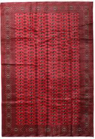Turkaman Rug 197X285 Authentic  Oriental Handknotted Dark Red/Crimson Red (Wool, Persia/Iran)