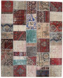Patchwork - Persien/Iran Rug 200X246 Authentic Modern Handknotted Light Grey/Dark Red (Wool, Persia/Iran)