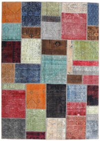 Patchwork - Persien/Iran Rug 170X242 Authentic  Modern Handknotted Light Green/Dark Grey (Wool, Persia/Iran)