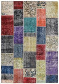 Patchwork - Persien/Iran Rug 168X241 Authentic  Modern Handknotted Dark Grey/Light Grey (Wool, Persia/Iran)
