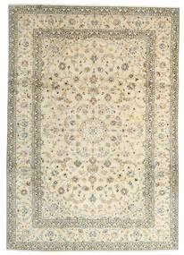 Keshan Rug 241X342 Authentic  Oriental Handknotted Beige/Dark Beige (Wool, Persia/Iran)
