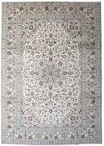Keshan Rug 245X343 Authentic  Oriental Handknotted Light Grey/Dark Grey (Wool, Persia/Iran)