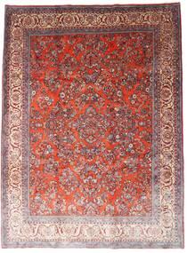Sarouk Rug 260X348 Authentic  Oriental Handknotted Dark Red/Light Purple Large (Wool, Persia/Iran)