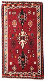 Kilim Vintage Rug 163X304 Authentic  Oriental Handwoven Hallway Runner  Crimson Red/Dark Brown (Wool, Persia/Iran)