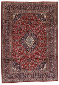 Mashad Rug 194X274 Authentic  Oriental Handknotted Dark Red/Dark Grey (Wool, Persia/Iran)