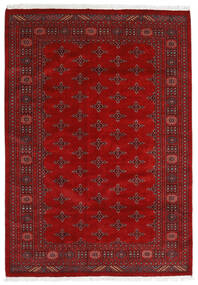 Pakistan Bokhara 3Ply Rug 169X240 Authentic Oriental Handknotted Rust Red/Dark Red (Wool, Pakistan)