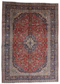 Keshan Rug 287X403 Authentic Oriental Handknotted Dark Red/Dark Brown Large (Wool, Persia/Iran)