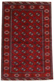 Turkaman Rug 194X293 Authentic  Oriental Handknotted Dark Red/Rust Red (Wool, Persia/Iran)