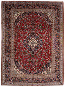 Keshan Rug 294X400 Authentic Oriental Handknotted Dark Red Large (Wool, Persia/Iran)
