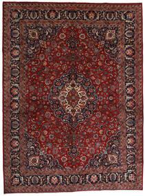 Mashad Rug 289X390 Authentic  Oriental Handknotted Dark Red/Dark Grey Large (Wool, Persia/Iran)