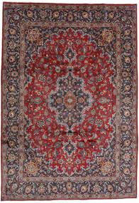 Mashad Rug 244X348 Authentic  Oriental Handknotted Dark Red/Dark Purple (Wool, Persia/Iran)