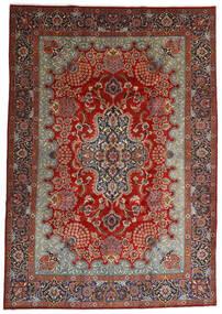 Mashad Rug 247X350 Authentic  Oriental Handknotted Dark Brown/Dark Red (Wool, Persia/Iran)
