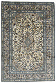 Keshan Rug 242X355 Authentic  Oriental Handknotted Dark Grey/Light Grey (Wool, Persia/Iran)