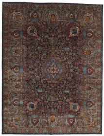 Kashmar Rug 303X391 Authentic  Oriental Handknotted Dark Brown/Dark Grey Large (Wool, Persia/Iran)