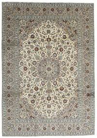 Keshan Rug 251X357 Authentic Oriental Handknotted Dark Grey/Light Grey Large (Wool, Persia/Iran)