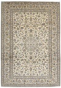 Keshan Rug 248X350 Authentic  Oriental Handknotted Light Grey/Beige/Dark Grey (Wool, Persia/Iran)
