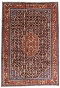 Ardebil Rug 234X330 Authentic Oriental Handknotted Dark Red/Dark Brown (Wool, Persia/Iran)