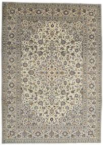 Keshan Rug 250X350 Authentic  Oriental Handknotted Dark Grey/Light Grey Large (Wool, Persia/Iran)