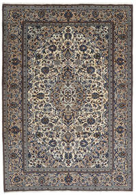 Keshan Rug 237X343 Authentic  Oriental Handknotted Dark Grey/Light Grey (Wool, Persia/Iran)