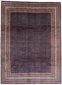 Sarouk Mir Rug 268X365 Authentic  Oriental Handknotted Black/Dark Purple Large (Wool, Persia/Iran)