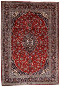 Keshan Rug 278X400 Authentic  Oriental Handknotted Dark Red/Brown Large (Wool, Persia/Iran)