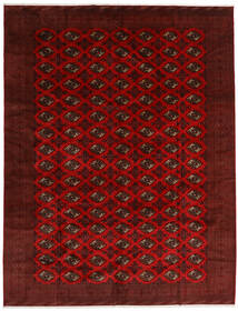 Turkaman Rug 296X383 Authentic Oriental Handknotted Dark Red/Dark Brown Large (Wool, Persia/Iran)