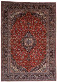 Keshan Rug 303X403 Authentic  Oriental Handknotted Dark Red Large (Wool, Persia/Iran)