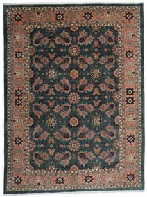 Ardebil Rug 295X393 Authentic Oriental Handknotted Black/Dark Red Large (Wool, Persia/Iran)