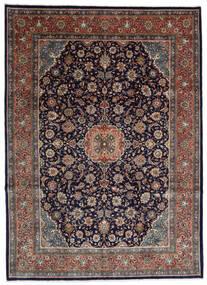 Sarouk Rug 275X376 Authentic  Oriental Handknotted Black/Dark Brown Large (Wool, Persia/Iran)