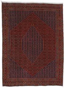 Bidjar Rug 304X404 Authentic Oriental Handknotted Dark Red/Dark Brown Large (Wool, Persia/Iran)