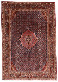 Bidjar Rug 204X290 Authentic  Oriental Handknotted Dark Red/Dark Grey (Wool, Persia/Iran)