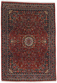 Bidjar Rug 220X315 Authentic  Oriental Handknotted Dark Red/Dark Grey (Wool, Persia/Iran)