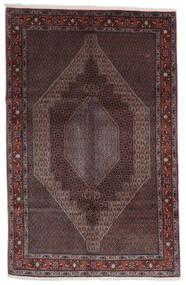 Senneh Rug 200X300 Authentic  Oriental Handknotted Dark Brown/Black (Wool, Persia/Iran)