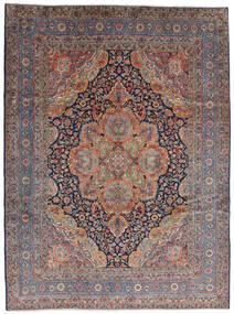 Kerman Rug 280X376 Authentic  Oriental Handknotted Dark Red/Light Grey Large (Wool, Persia/Iran)